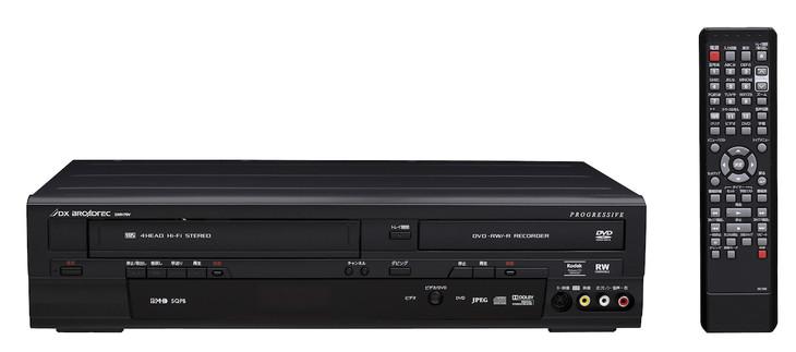 地上デジタルチューナー内蔵ビデオ一体型DVDレコーダー「DXR170V」