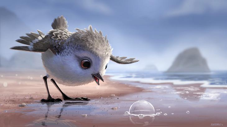 「ひな鳥の冒険」