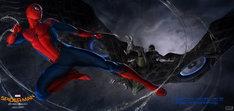 「スパイダーマン:ホームカミング」コンセプトアート