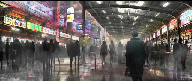 「ブレードランナー 2049」のコンセプトアート。