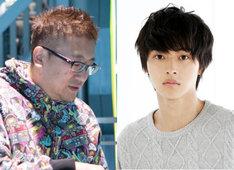 左から福田雄一、山崎賢人。