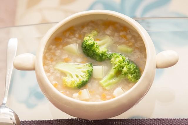 冬野菜の雑穀スープ