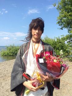 福士蒼汰が8月10日に更新したブログ「曇天アップ!。」より。
