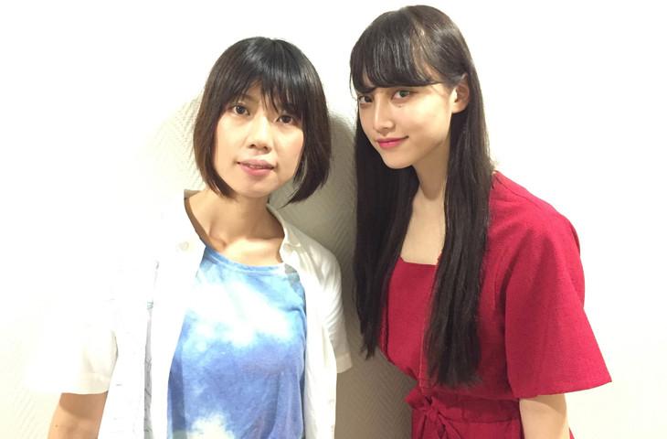 左から加藤綾佳、山田愛奈。