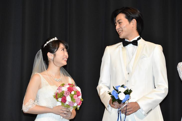 左から志田未来、竜星涼。