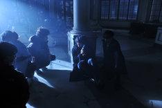 「デスノート Light up the NEW world」撮影現場の様子。