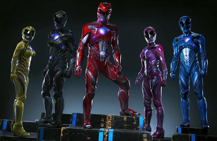 「Power Rangers(原題)」(写真提供:LIONSGATE / Allstar Picture Library / ゼータ イメージ)