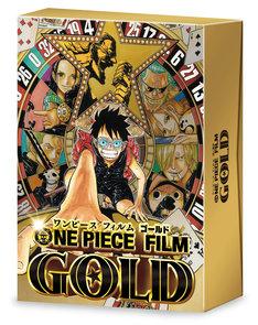 「ONE PIECE FILM GOLD」初回生産限定となるGOLDEN LIMITED EDITIONのジャケット。