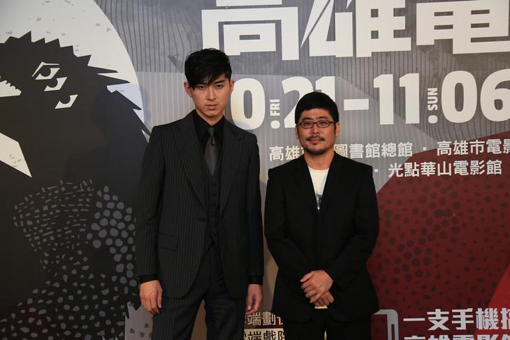 左から松田翔太、熊切和嘉。(写真提供:高雄映画祭)