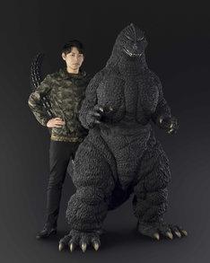 「Human size ゴジラ(1991 北海道 ver.)」