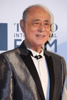 2016年10月、第29回東京国際映画祭のレッドカーペットイベントに出席した津川雅彦。