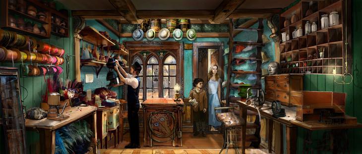 「アリス・イン・ワンダーランド/時間の旅」コンセプトアート