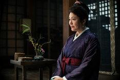 「空海―KU-KAI―」より松坂慶子演じる白玲。