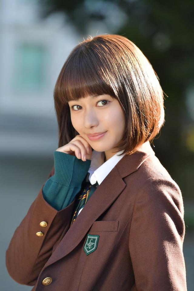 「ひるなかの流星」で猫田ゆゆかを演じる山本舞香。