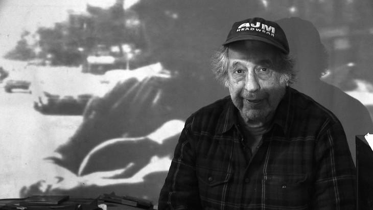 「アメリカンズ ロバート・フランクの写した時代」 4sub_ Photo of Robert Frank by Lisa Rinzler, copyright Assemblage Films LLC