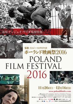 「ポーランド映画祭2016」ポスタービジュアル