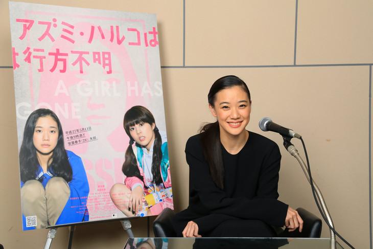 オールナイトニッポンでラジオパーソナリティを担当する蒼井優。