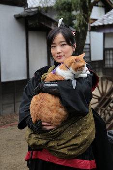 「猫忍」で紅葉を演じる佐藤江梨子。