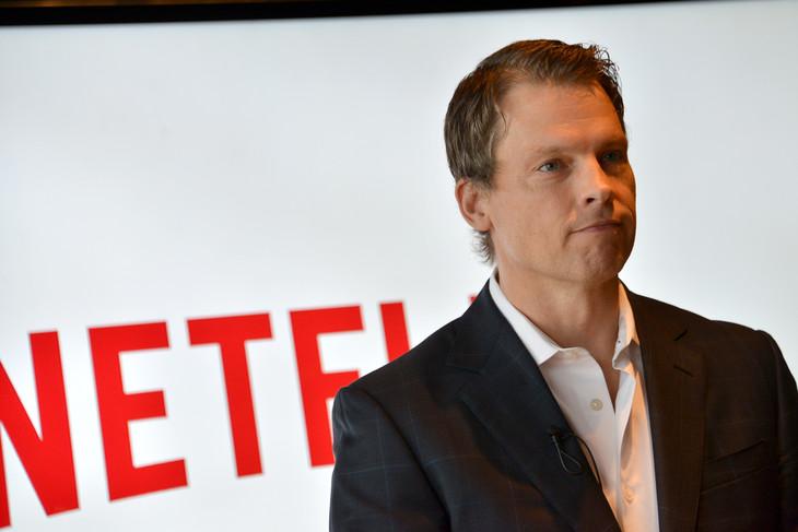 Netflix日本法人代表のグレッグ・ピーターズ。