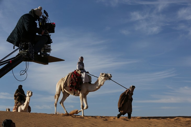 「アラビアの女王 愛と宿命の日々」メイキングカット