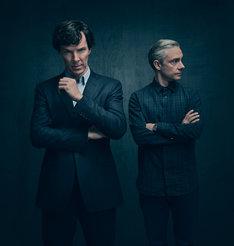 「SHERLOCK/シャーロック」シーズン4 ビジュアル (c)Sherlock TV Ltd.