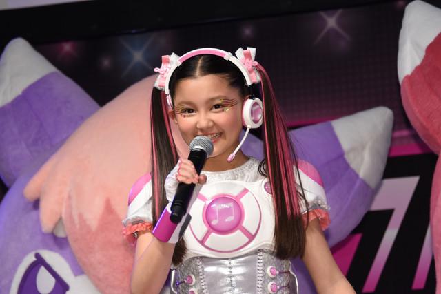 テレビシリーズ「アイドル×戦士 ミラクルちゅーんず!」一ノ瀬カノン役の内田亜紗香。