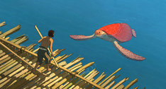 「レッドタートル ある島の物語」 (c)2016 Studio Ghibli - Wild Bunch - Why Not Productions - Arte France Cinema - CN4 Productions - Belvision - Nippon Television Network - Dentsu - Hakuhodo DYMP - Walt Disney Japan - Mitsubishi - Toho