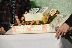 橋本環奈のために用意されたバースデーケーキ。