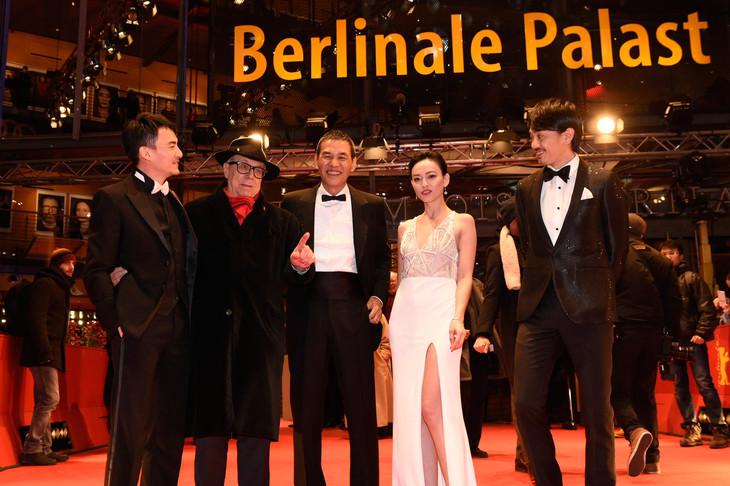 第67回ベルリン国際映画祭で行われた「Mr.Long/ミスター・ロン」プレミアの様子。