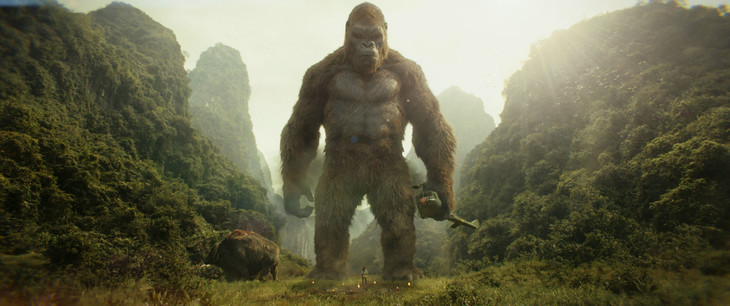 「キングコング:髑髏島の巨神」より、キングコング。