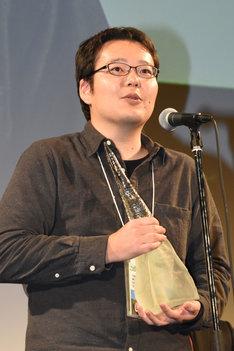 「トータスの旅」でオフシアター・コンペティション部門のグランプリを獲得した永山正史。
