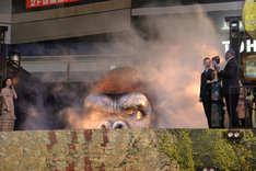 「キングコング:髑髏島の巨神」ジャパンプレミアの様子。