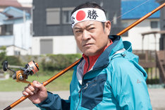 「釣りバカ日誌 Season2 新米社員 浜崎伝助」より、邦栄建設の社長・甘粕賢三郎を演じる松平健。