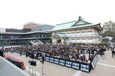 「無限の住人」京都プレミアイベントの様子。