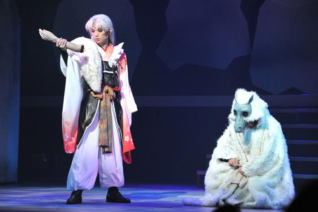 舞台「犬夜叉」ゲネプロの様子。