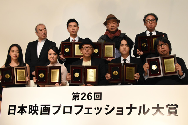 第26回日本映画プロフェッショナル大賞授賞式の様子。