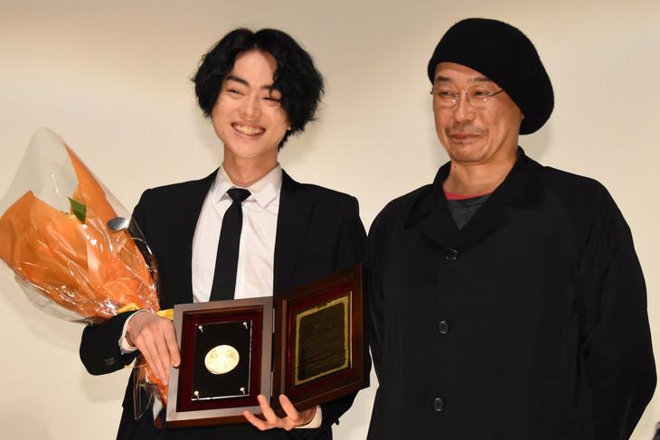 左から菅田将暉、「セトウツミ」監督の大森立嗣。