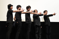 第2回東映特撮ファンミーティング「『仮面ライダーエグゼイド Blu-ray COLLECTION』発売記念イベント」の様子。