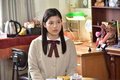 「心が叫びたがってるんだ。」より、石井杏奈(E-girls)演じる仁藤菜月。