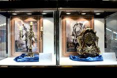 「『美女と野獣』の世界展 at GINZA MITSUKOSHI」の展示物。