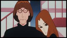 「映画クレヨンしんちゃん 嵐を呼ぶモーレツ!オトナ帝国の逆襲」より、ケン(左)とチャコ(右)。