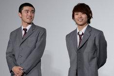 左から川籠石駿平、須賀健太。