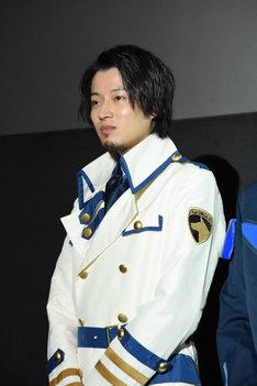 2017年5月開催の「スペース・スクワッド ギャバン VS デカレンジャー」「ガールズ・イン・トラブル スペース・スクワッド EPISODE ZERO」完成披露イベントに登壇した吉田友一。