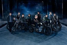 「HiGH&LOW THE MOVIE 2 / END OF SKY」山王連合会チームビジュアル