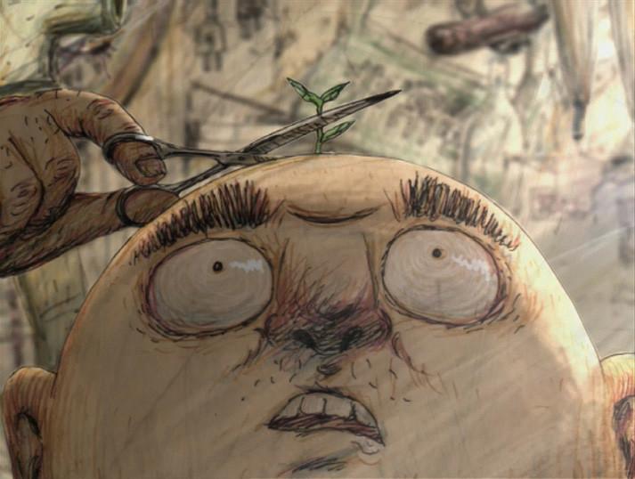 「頭山」 (c)Yamamura Animation