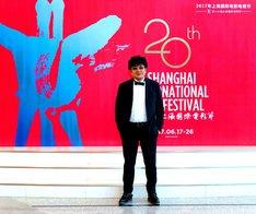 第20回上海国際映画祭に参加した大友啓史。