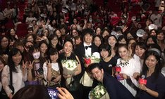 第20回上海国際映画祭での「blank13」舞台挨拶の様子。