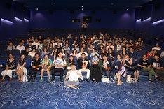 第20回上海国際映画祭「ひるね姫 ~知らないワタシの物語~」舞台挨拶の様子。