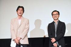 左から金澤誠、会田正裕。
