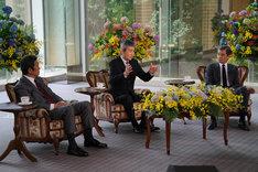 左から神田正輝、渡哲也、舘ひろし。(写真提供:NHK)